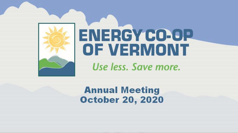 Energy Co-op Annual Meeting 2020