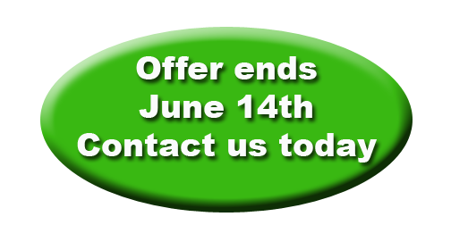 Offer ends soon, call today