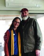 Chuck Lacey and Gaye Symington