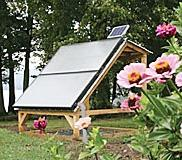 Ground Mount Solar Hot Water in Vermont