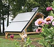 Ground Mount Solar Hot Water in Vermont