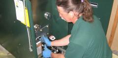 Repairing a furnace
