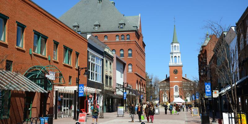 Church Street Marketplace Burlington VT