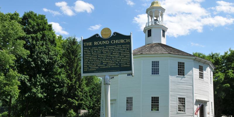 Round Barn in Richmond, Vermont
